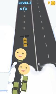 《扫雪车》游戏画面3