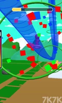 《橡皮人过山车》游戏画面2