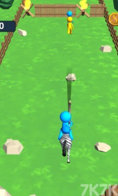 《骑马的弓箭手无敌版》游戏画面2