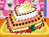 制作爱心蛋糕3