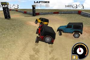 3D吉普车越野赛