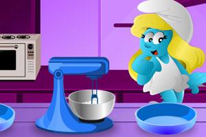 蓝精灵下厨房