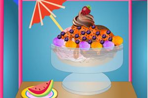 冰淇淋圣代