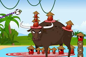 奶牛敢死队丛林战