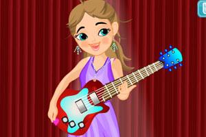 美丽吉他女孩