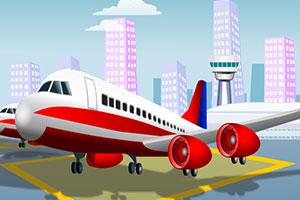 飞机跑道停机场