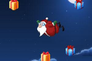 圣诞老人高空飞行