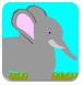 大象摘苹果