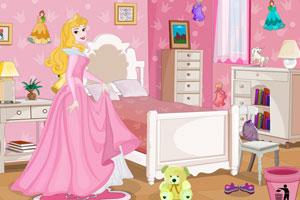 奥罗拉公主布置房间