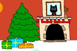 小黑过圣诞