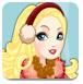 苹果公主穿洋装