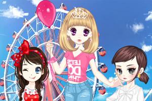 森迪公主的六一儿童节2