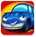 蓝色小汽车拼图