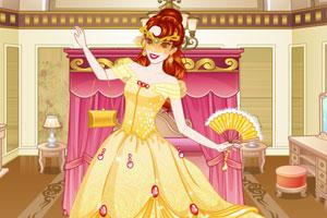 贝儿公主参加舞会