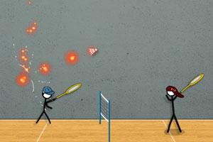 火柴人打羽毛球3