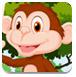 救援卡通猴子