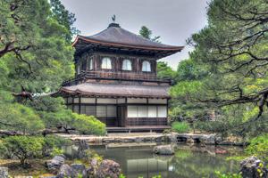 日式花园拼图