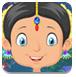 救援传统的印度女孩