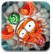 螃蟹打彩球