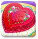 情人節制作蛋糕