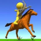 骑马的弓箭手