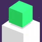 绿色立方体