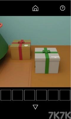 《圣诞密室解谜》游戏画面2