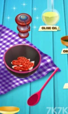 《制作香腸披薩》游戲畫面4