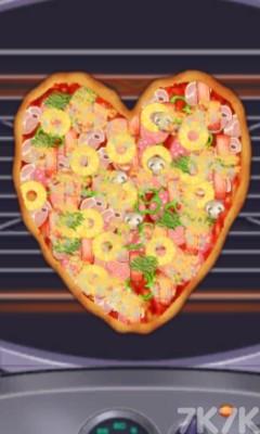 《制作香腸披薩》游戲畫面1