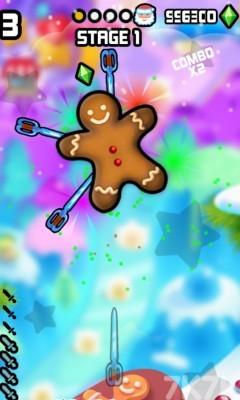 《见缝插刀圣诞无敌版》游戏画面1