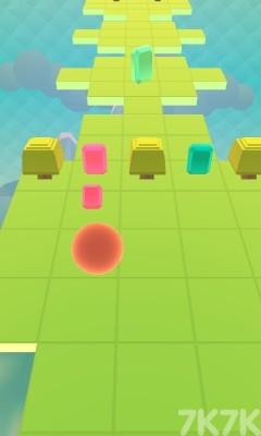 《彩虹小球冲刺》游戏画面3