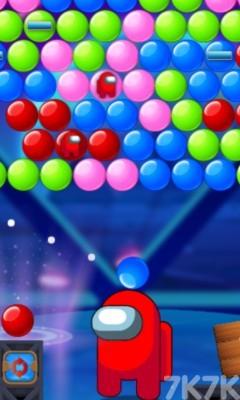 《太空泡泡泡》游戏画面2