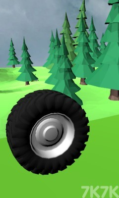 《超级大轮胎》游戏画面1