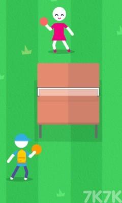 《乒乓球挑战赛》游戏画面2