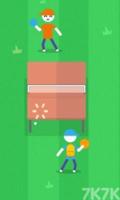 《乒乓球挑战赛》游戏画面1