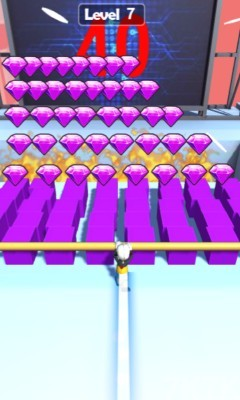 《屋顶滑轨》游戏画面3