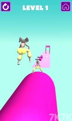 《跑酷我最强》游戏画面1