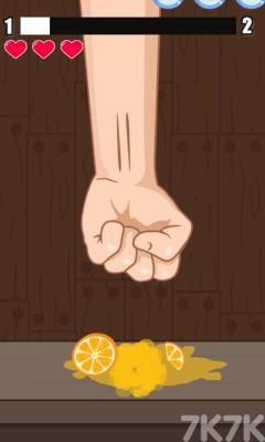 《拳碎水果》游戏画面2