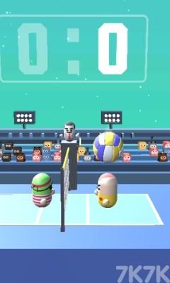 《疯狂排球》游戏画面1
