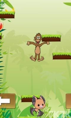 《小猴子丛林跳跃》游戏画面2