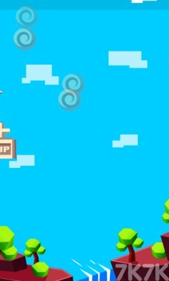 《不停跳跃》游戏画面2
