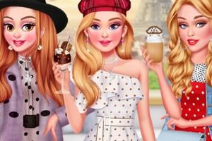 《巴黎时尚穿搭》游戏画面1
