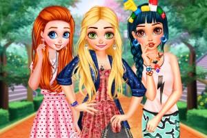 《公主混搭时装》游戏画面1
