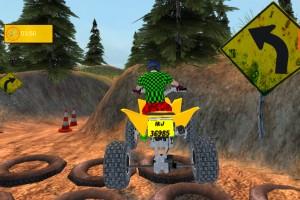 《山地越野挑战赛》游戏画面1