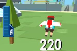 《噴氣跳遠》游戲畫面2