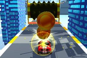 《城市賽車障礙賽》游戲畫面1