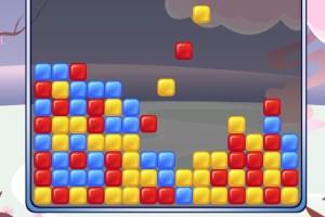 《消除彩色方块》游戏画面1
