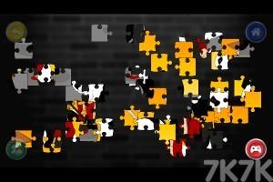 《斗士美术拼图》游戏画面2