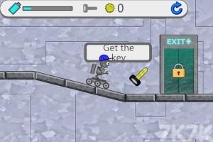 《机器人逃亡记H5》游戏画面1