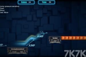 《机械人跑酷》游戏画面1